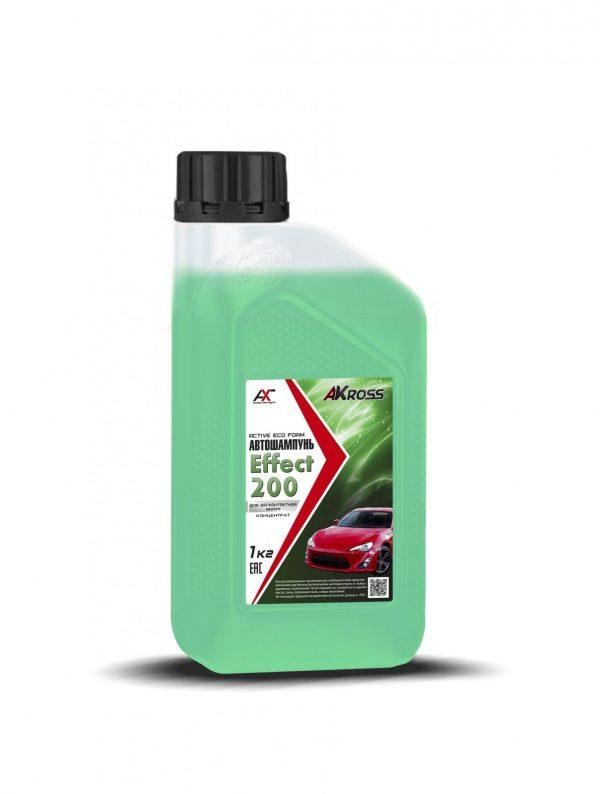 Шампунь для бесконтактной мойки AКross Effect 200 зеленый 1кг