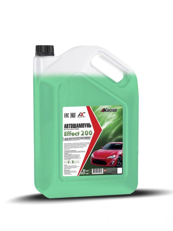 Шампунь для бесконтактной мойки AКross Effect 200 зеленый 5кг