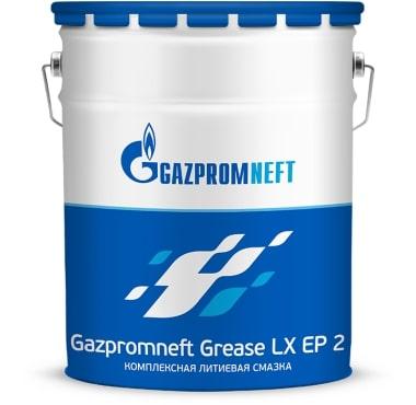 Cмазка универсальная GAZPROMNEFT LХ EP2 синяя 4кг