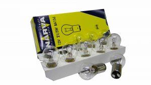 Автолампа NARVA STANDARD 12 V P21W21/4WBA15s(картон мин.10шт)