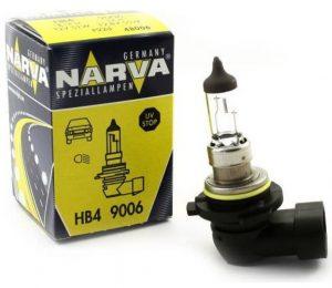 Автолампа NARVA STANDARD 12 V HB4 51W P22d( картон 1шт)