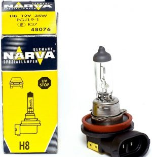 Автолампа NARVA STANDARD 12 V H8 35W PGJ19-1( картон 1шт)