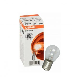 Автолампа OSRAM ORIGINAL LINE 12V P21W 21W BA15s (картон) (мин 10 шт)