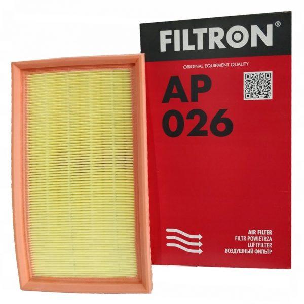 Фильтр воздушный FILTRON AP 026 BMW 3(E36) -00 1.6/1.8