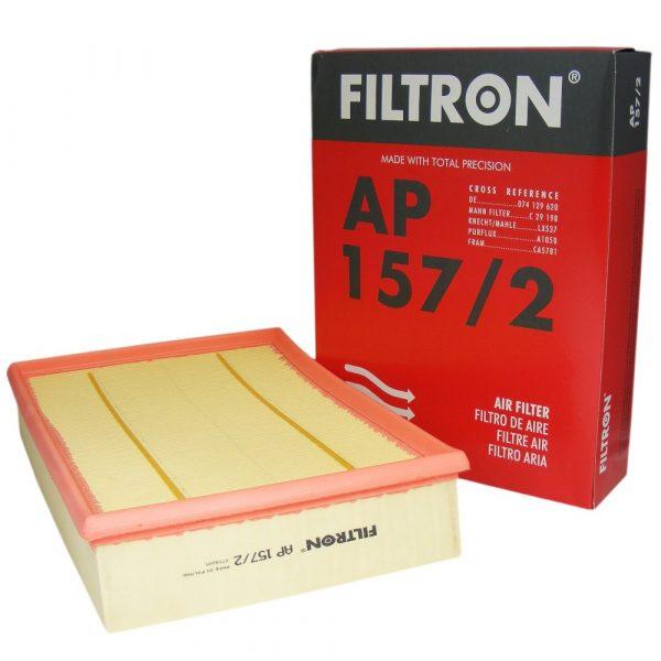 Фильтр воздушный FILTRON AP1572 VW TRANSPORTER -03 2.0-2.8/1.9-2.4 DIESEL