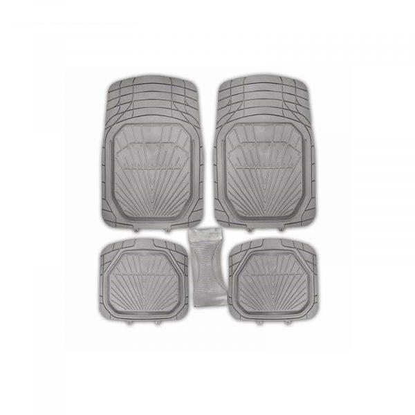 Коврик салона Rain-5 ванночка полиуретан SKYWAY серый 5 предметов п:70*49см, с:26*60см, з:49*49см