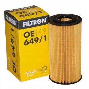 Фильтр масляный FILTRON OE6491 BMW 3(E36)/5(E34)/5(E39)/7(E38)/RRII -01 2.5TD