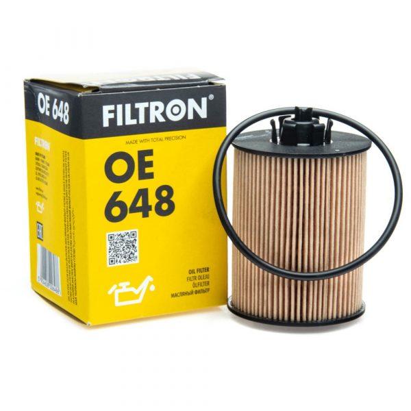 Фильтр масляный FILTRON OE648 OPEL ASTRA H/CORSA D 04- 1.0-1.4