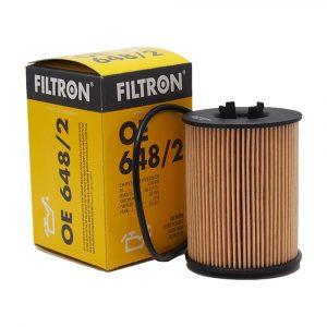 Фильтр масляный FILTRON OE6482 OPEL OMEGA B/VECTRA B/ASTRA G -03 1.8-3.2