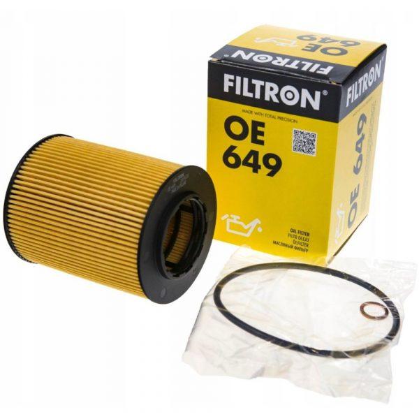 Фильтр масляный FILTRON OE649 BMW 3(E36)(E46)/5(E39)(E60) 95- 2.0-4.0
