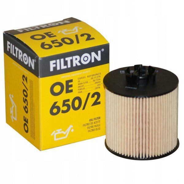 Фильтр масляный FILTRON OE6502 VAG A3/FABIA/OCTAVIA/GOLF 5/JETTA 3/PASSAT/POLO/TIGUAN 03- 1.4-1.