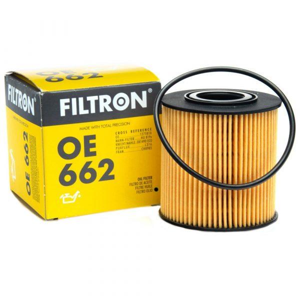 Фильтр масляный FILTRON OE662 VOLVO S40/S70/S80/XC90/V40/V70 -10 1.6-4.4