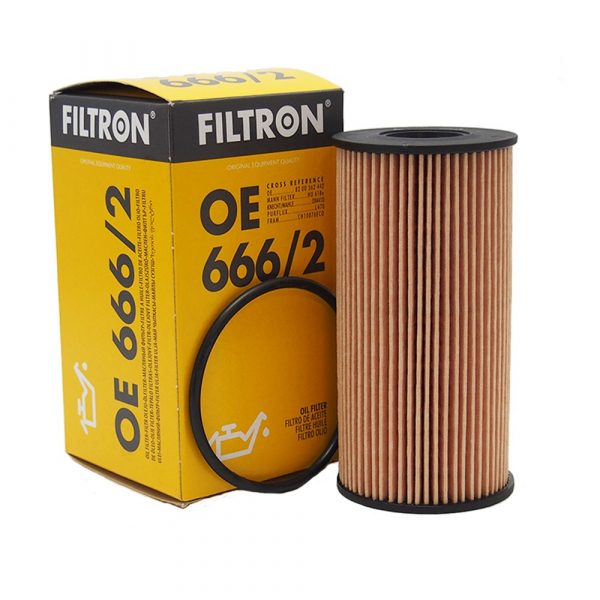 Фильтр масляный FILTRON OE6662 RENAULT/OPEL TRAFIC/MOVANO 05- 2.0-2.5 DIESEL