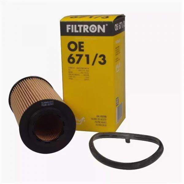 Фильтр масляный FILTRON OE6713 VAG A3/A4/OCTAVIA/GOLF 5/PASSAT 03- 2.0-2.5