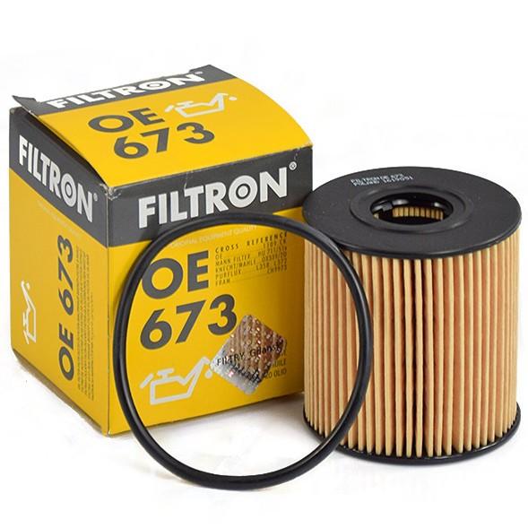 Фильтр масляный FILTRON OE673 FORD Focus 2, Mondeo 4, Kuga 04- 2.0 DIESEL