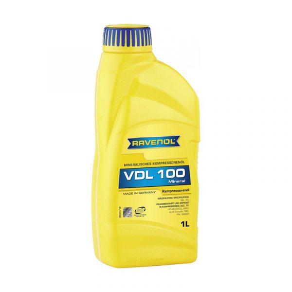 Масло компрессорное Ravenol VDL 100 1л