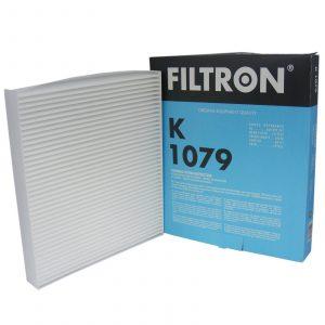 Фильтр салона FILTRON K1079 AUDI A1 (8X), A2 (8Z0), MERCEDES W463, SKODA Fabia, VW Polo 00-, SEAT