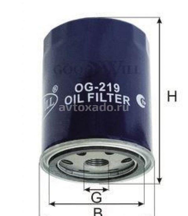 OG 219 GOODWILL масляный фильтр VOLKSWAGEN