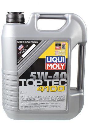 Масло моторное LIQUI MOLY TopTec 4100 5W-40 SN/CF A3/B4/C3 7501 синтетика 5л