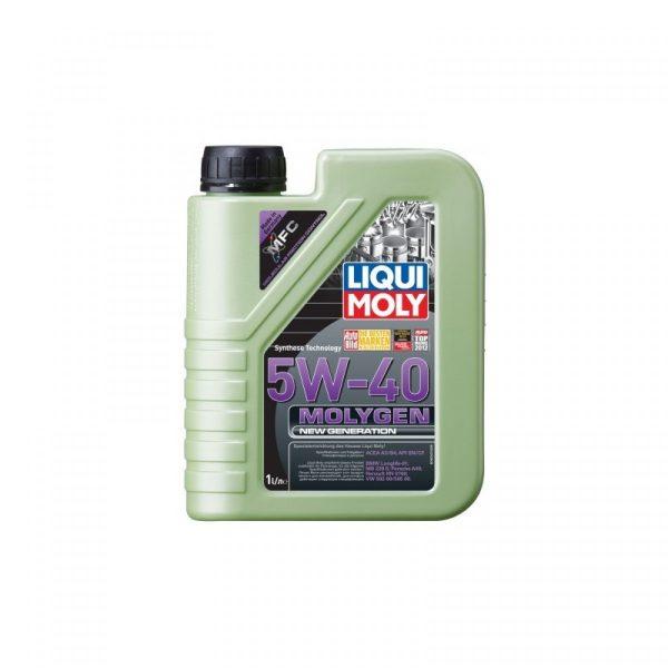 Масло моторное LIQUI MOLY Molygen New Generation 5W-40 SN/CF A3/B4 9053 синтетика 1л