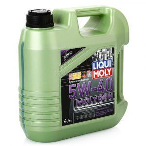 Масло моторное LIQUI MOLY Molygen New Generation 5W-40 SN/CF A3/B4 9054 синтетика 4л