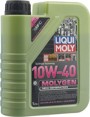 Масло моторное LIQUI MOLY Molygen New Generation 10W-40 SL/CF A3/B4 9059 полусинтетика 1л