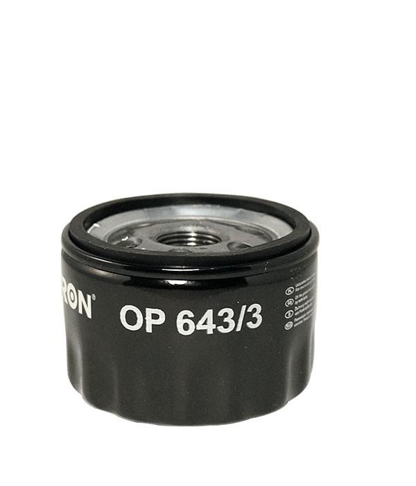 Фильтр масляный FILTRON OP6433 HYUN/KIA/MAZDA/MITSUBISHI/NISSAN
