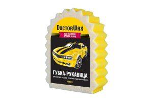 Губка-рукавица для удаления следов от насекомых и дорожного налета Doctor Wax DW8639