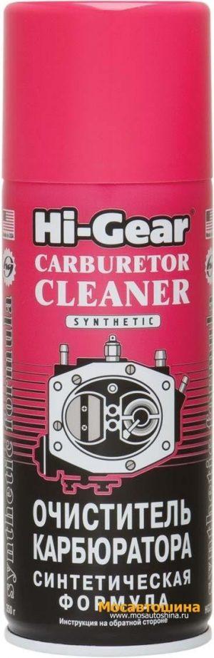 Очиститель карбюратора синтетический Hi-Gear HG3116 аэрозоль 350гр