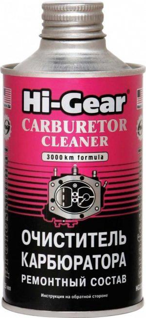 Очиститель карбюратора Hi-Gear HG3206 ремонтный состав на 40-60л 325мл