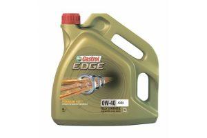 Масло моторное Castrol EDGE 0W-40 A3/B4 синтетика, 4 литра