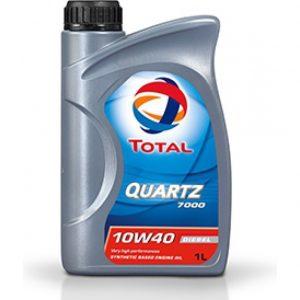 Масло моторное Total QUARTZ 7000 DIESEL 10W-40 SN/SF полусинтетика 1л