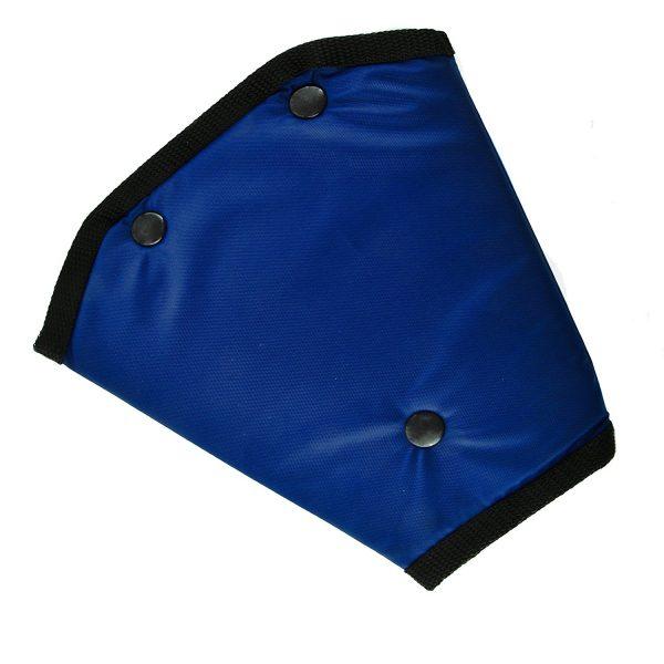 Адаптер ремня безопасности детский SKYWAY брезент синий S04006001