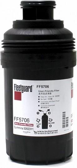 Фильтр топливный Fleetguard FF5706 ГАЗ-3310 Валдай Cummins