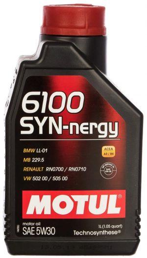 Масло моторное MOTUL 6100 SYN-NERGY 5W-30 1л