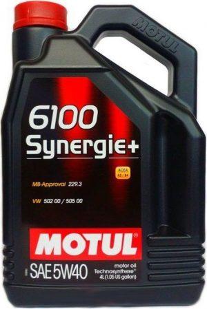 Масло моторное MOTUL 6100 SYN-NERGY 5W-40 4л