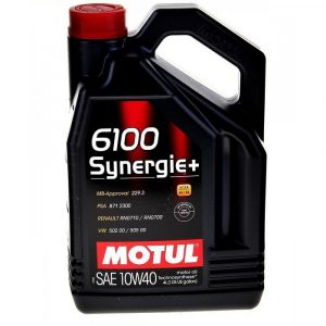 Масло моторное MOTUL 6100 Synergie+ 10W-40 A3/B4 SM/CF 4л