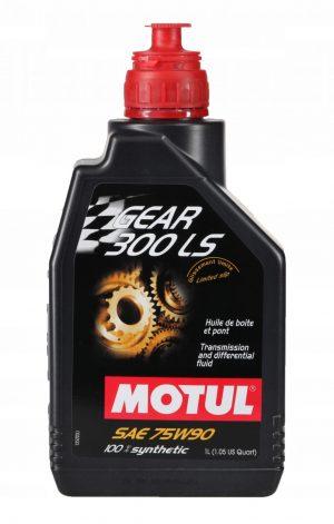 Масло трансмиссионное MOTUL Gear 300 LS 75W-90 GL-5 1л
