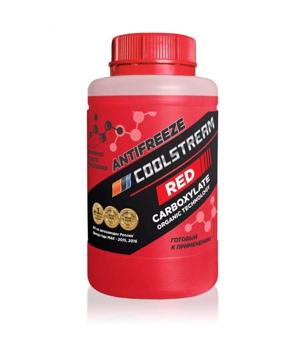 Антифриз COOLSTREAM красный 0,9кг