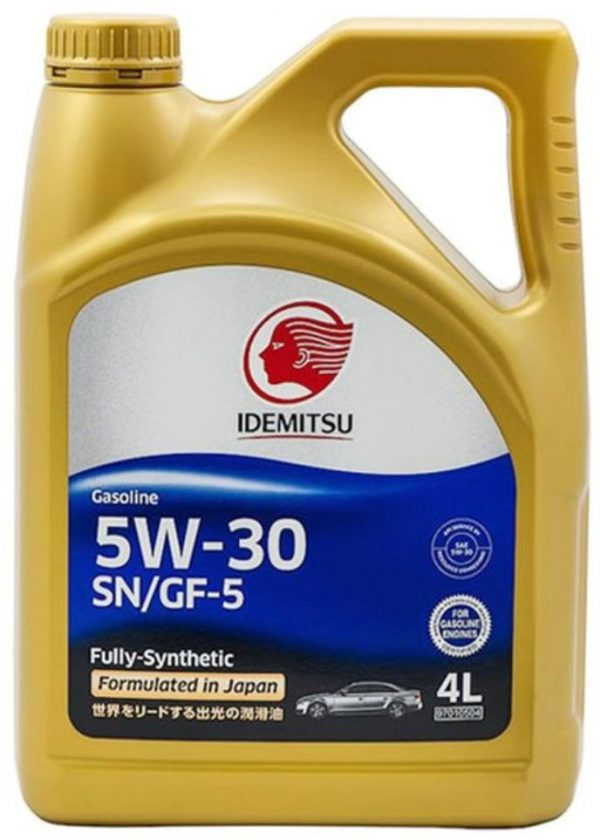 Масло моторное IDEMITSU 5W-30 SN/GF-5 синтетическое 4л