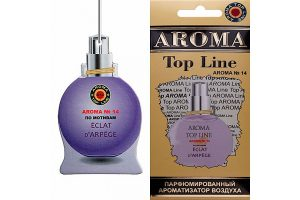 Ароматизатор бумажный AROMA Top Line №14 LANVIN ECLAT D'ARPEGE