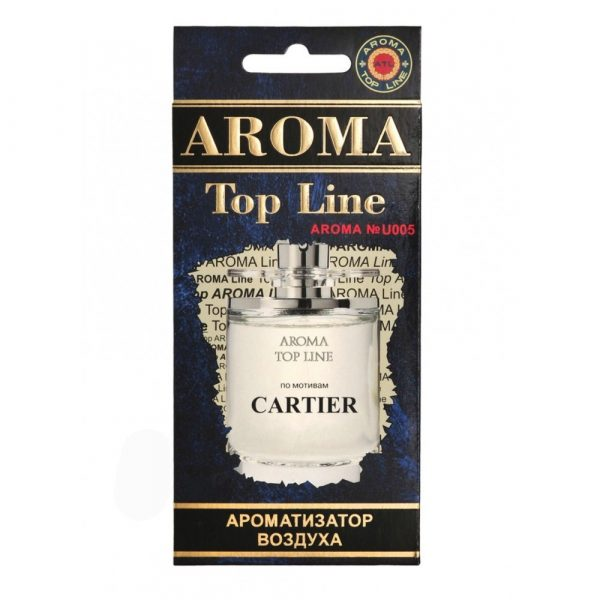 Ароматизатор бумажный AROMA Top Line №U005 CARTIER