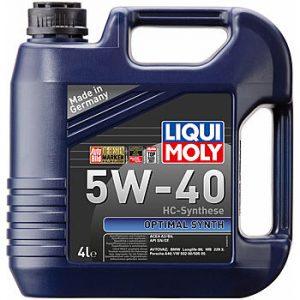 Масло моторное LIQUI MOLY Optimal Synth 5W-40 SN/CF A3/B4 2293 синтетика 5л