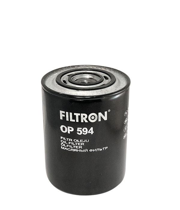 Фильтр масляный FILTRON OP594 Iveco Daily. Eurocargo Citroen Jumper I/II, Fiat Argenta