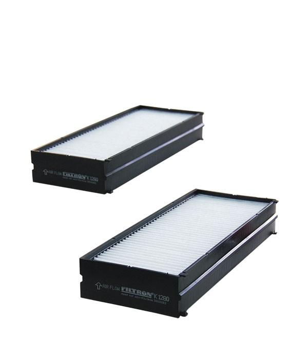 Фильтр салона FILTRON K 1280-2X Hyundai Santa fe 03-, Sonata