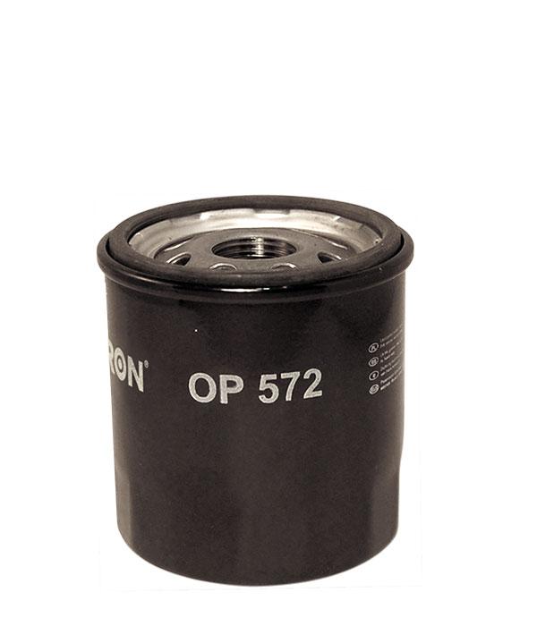 Фильтр масляный FILTRON OP572 Toyota RAV-4 2.0 16V, Toyota Auris, Coroola, Camry, Corona