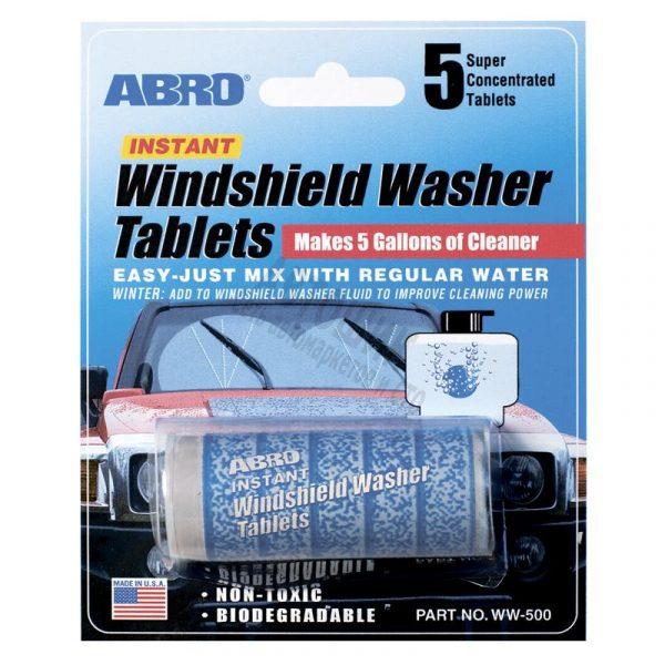Таблетки для омывателя стекла ABRO WW-500, 5 табл.