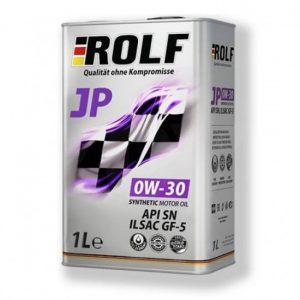 Масло моторное ROLF JP 0W-30 SN GF5 синтетика 1л