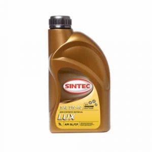 Масло моторное SINTEC Люкс 5W-40 SL/CF полусинтетика 1л