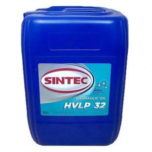 Масло гидравлическое SINTEC Hydraulic HVLP-32 20л